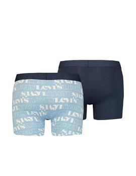 Boxer 2Pack brief logo aop Levi's
