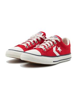 Zapatilla Star player EV OX roja Converse