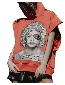 Sudadera sin mangas Madonna Be Happiness