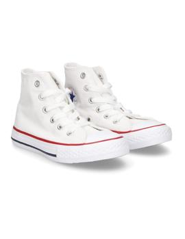 Zapatilla All Star Hi Youth C/T Blanca Converse