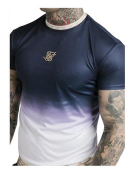 Camiseta s/s fade inset tape gym tee Sik Silk