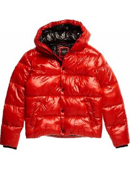 Chaqueta high shine padded Superdry