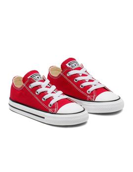 Zapatilla All Star Infant C/T A/S OX Roja Converse