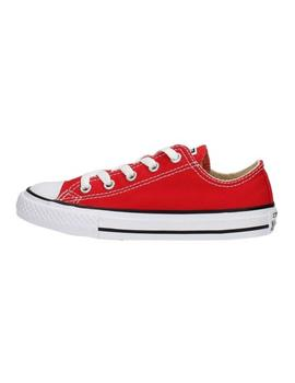 Zapatilla All Star Youths C/T Roja Converse