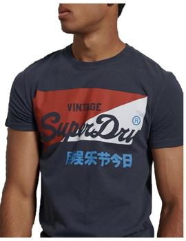 Camiseta vl o primary Superdry