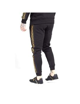 Pantalón muscle fit nylon panel joggers Sik Silk