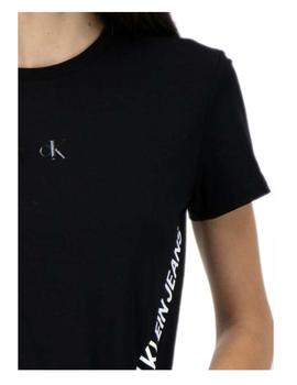 Camiseta negra Stretch Innovation Calvin Klein