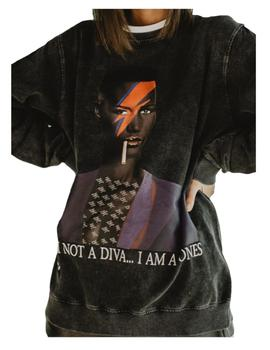 Sudadera unisex Grace Jones Be Happiness